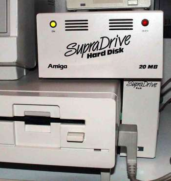 Image showing the SupraDrive 4x4 attached to the A1000