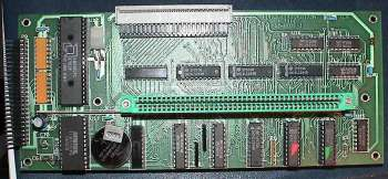 Image showing the controller PCB with clock