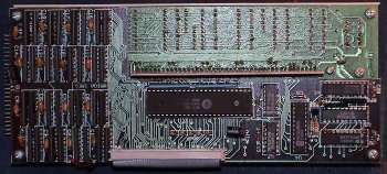 Image showing the rear of the controller PCB