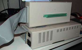 Image showing the hard disk unit and controller