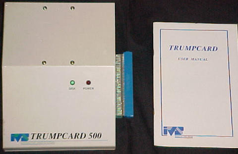 Image of the A500 version of the Trumpcard
